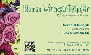 Blumen Weingartshofer